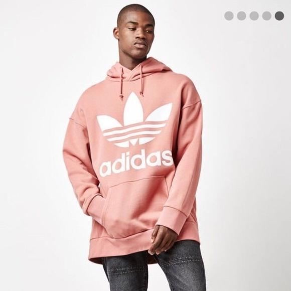 Adidas ADC F Premium Hoodie, Raw Pink, S, Boxy Fit NWT